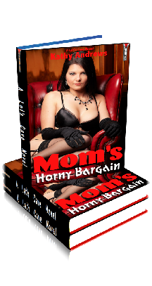 3D Ebook Cover - Mom's Horny Bargain - by Kathy Andrews