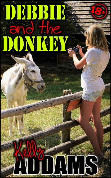 Book Cover Photo: Debby And The Donkey ~ by Kelly Addams