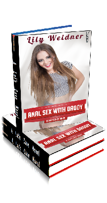 3D Ebook Cover - Anal Sex With Daddy - Hardcore Taboo Erotica No.5 - by Lily Weidner