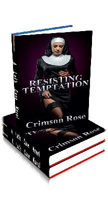 3D Ebook Cover - Resisting Temptation - by Crimson Rose