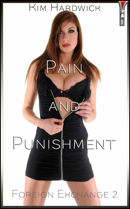 Book Cover Photo: Pain and Punishment - Foreign Exchange No.2 - by Kim Hardwick
