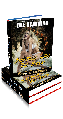 3D Ebook Cover - Sleeping With The Band - by Dee Dawning