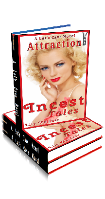 3D Ebook Cover - Attraction! - Incest Tales No.5 - by Lily Weidner