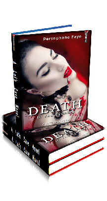 3D Ebook Cover - Death in the Evening ~ by Persephone Faye