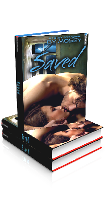 3D Ebook Cover - Saved, by Mosey