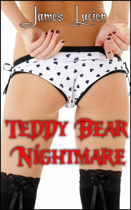 Book Cover Photo: Teddy Bear Nightmare - by James Lucien