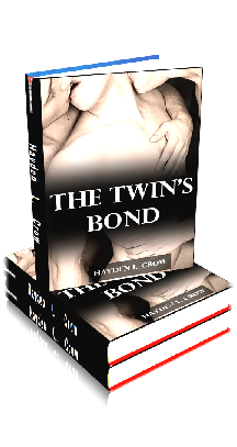 3D Ebook Cover - The Twin's Bond - by Hayden L. Crow