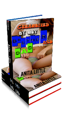 3D Ebook Cover - Creampied By My Daddy And Brother! - by Anita Little