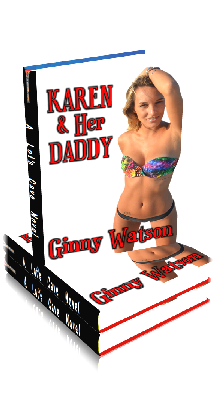 3D Ebook Cover - Karen And Her Daddy ~ by Ginny Watson