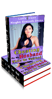 3D Ebook Cover - Cheating On My Husband While He Watched - Naughty Housewife Erotica No.1 - by Sherri Roberts