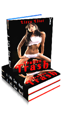 3D Ebook Cover - Trailer Trash - by Lizzy Eliot