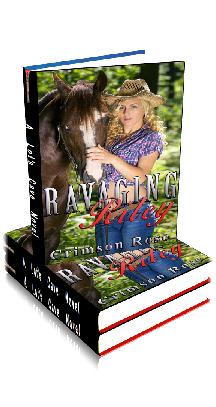 3D Ebook Cover - Ravaging Riley - by Crimson Rose