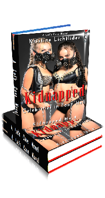 3D Ebook Cover - Kidnapped Celebrities in Pony Hell ~ Kidnapped No.4 ~ by Kristine Lichtlider