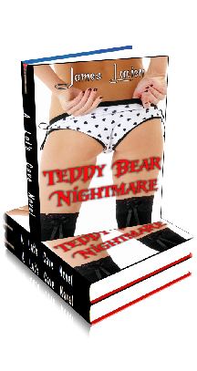 3D Ebook Cover - Teddy Bear Nightmare - by James Lucien