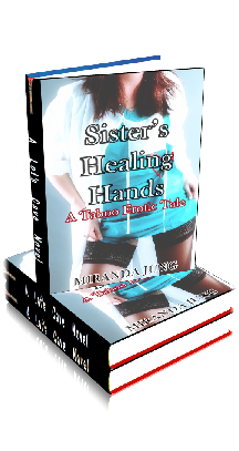 3D Ebook Cover - Sister's Healing Hands ~ by Miranda Jung