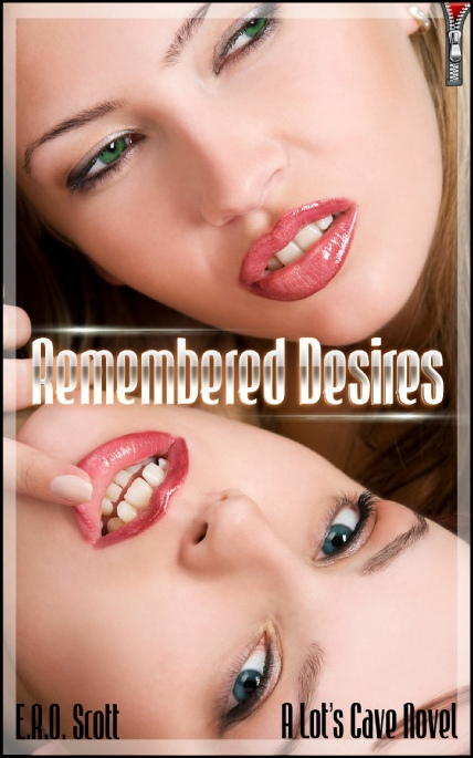 Book Cover Photo: Remembered Desires, by E.R.O. Scott