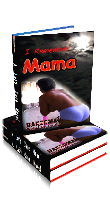 3D Ebook Cover - I Remember Mama - by Bakerman
