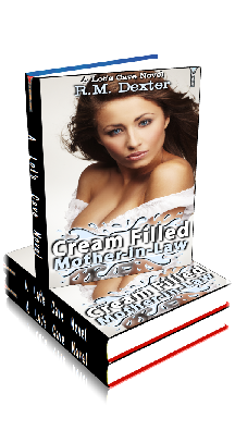 3D Ebook Cover - Cream Filled Mother-in-Law - by R.M. Dexter