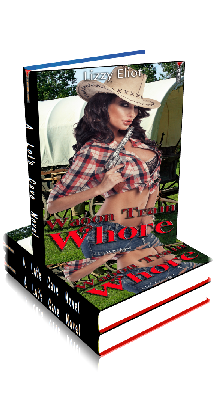 3D Ebook Cover - Wagon Train Whore - by Lizzy Eliot