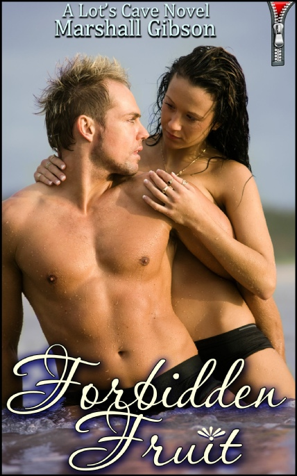 Book Cover Photo: Forbidden Fruit - Jasmin's Tingle No.8 - by Marshall Gibson