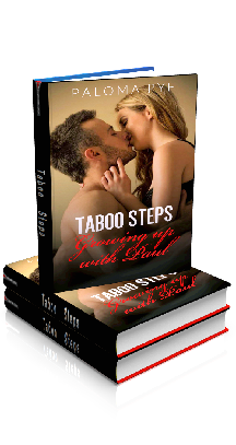 3D Ebook Cover - Taboo Steps: Growing up with Paul - by Paloma Pye