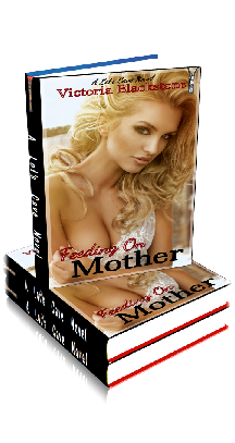 3D Ebook Cover - Feeding on Mother - by Victoria Blackstone