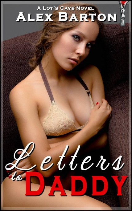 Book Cover Photo: Letters to Daddy ~ Eight Erotic Letters ~ by Alex Barton