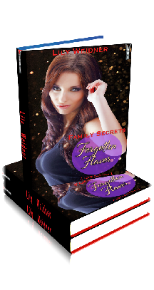 3D Ebook Cover - Forgotten Flavor - Family Secrets No.6 - Lily Weidner