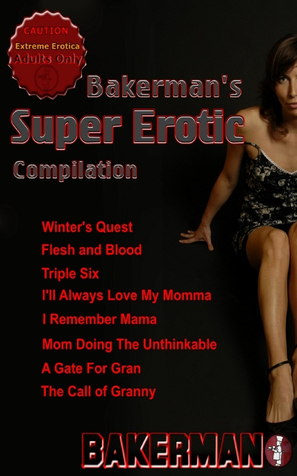 Book Cover Photo: Bakerman's Super Erotic - 8-Pack Compilation - by Bakerman