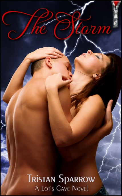Book Cover Photo: The Storm - Close for Comfort No.1 - by Tristan Sparrow