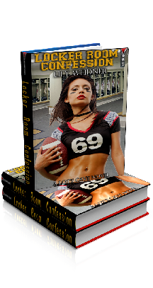 3D Ebook Cover - Locker Room Confession, by Lily Weidner