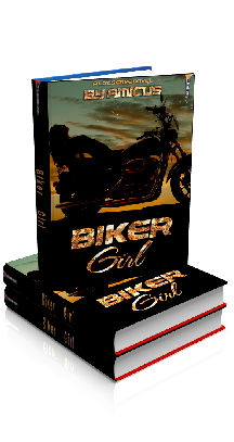 3D Ebook Cover - Biker Girl, by Amicus