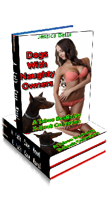 3D Ebook Cover - Dogs With Naughty Owners - Bestiality 3-Pack - by Jessica Bella