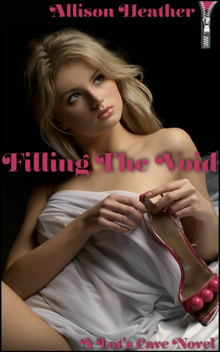 Book Cover Photo: Filling The Void, by Allison Heather