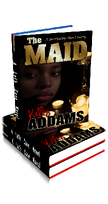 3D Ebook Cover - The Maid ~ A Bestiality Story ~ by Kelly Addams