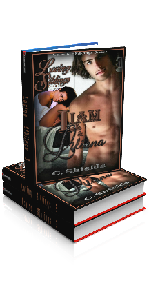 3D Ebook Cover - Liam & Liliana - Loving Siblings No.3 - by C. Shields