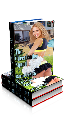 3D Ebook Cover - The Cheerleader Squad, by Baron LeSade