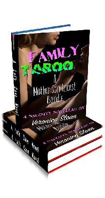 3D Ebook Cover - A Mother Son Incest Bundle - Family Taboo No.2 - by Veronica Sloan