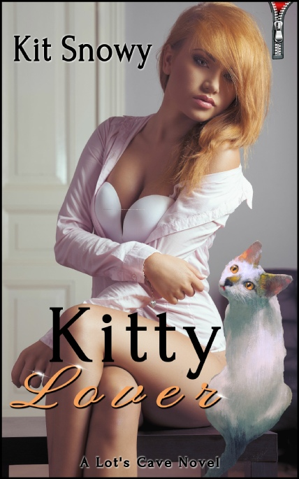 Book Cover Photo: Kitty Lover ~ by Kit Snowy