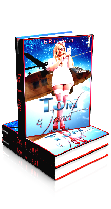 3D Ebook Cover - Tom & Janet - by E.R.O. Scott