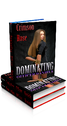 3D Ebook Cover - Dominating Officer Daniels - by Crimson Rose