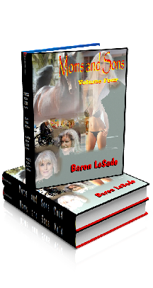 3D Ebook Cover - Moms and Sons - Volume No.4 - by Baron LeSade