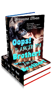 3D Ebook Cover - Oops! I Banged My Brother - by Veronica Sloan