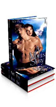 3D Ebook Cover - A Mom's Story, by M.F. Paul