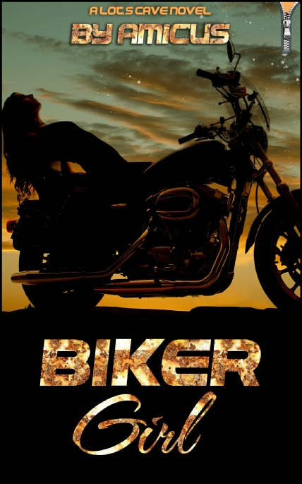 Book Cover Photo: Biker Girl, by Amicus