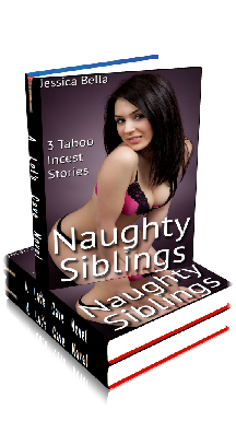 3D Ebook Cover - Naughty Siblings - 3 Taboo Incest Stories - by Jessica Bella