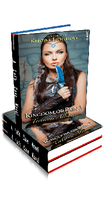 3D Ebook Cover - Honor Bound - Kingdom of Pain No.2 - Kristine Lichtlider