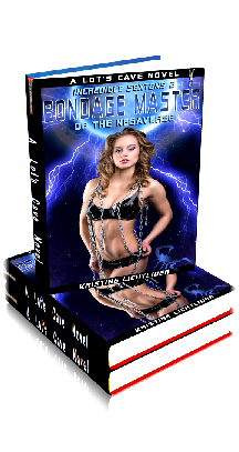 3D Ebook Cover - Bondage Master of the Negaverse - The Incredible Sextons No.2 - by Kristine Lichtlider