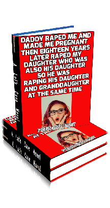 3D Ebook Cover - Daddy Raped Me ~ by Penelope Liksit