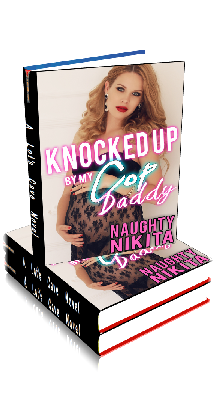 3D Ebook Cover - Knocked Up By My Cop Daddy - by Naughty Nikita